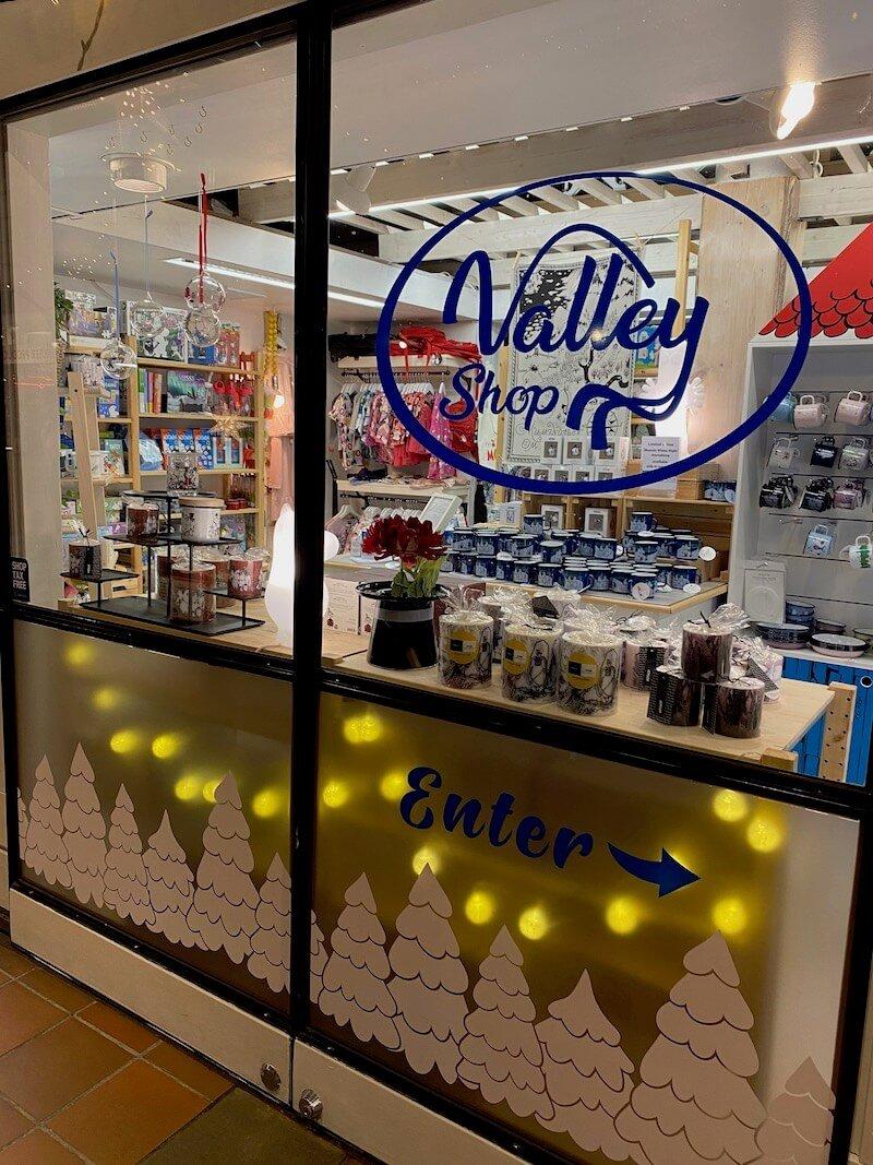 Image - moomin valley shop finland santa village exterior
