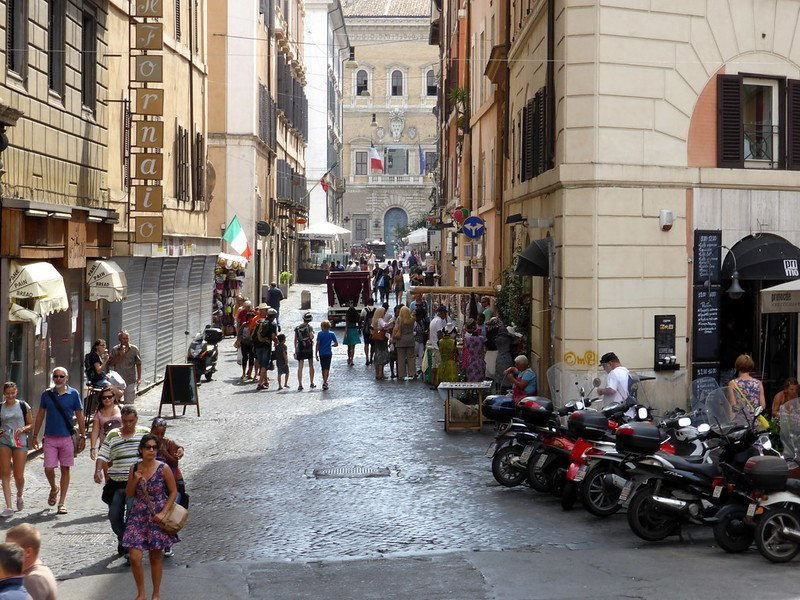 alternative rome shopping street - pic by Sean MacEntee