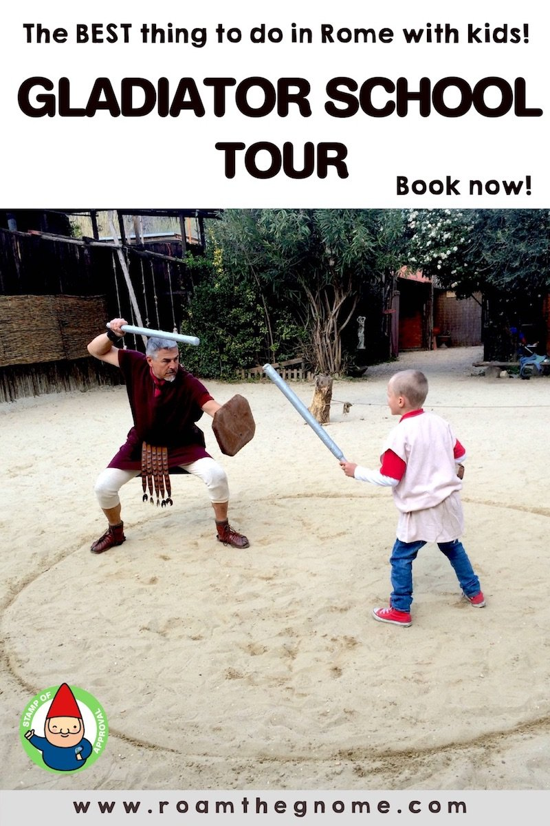 PIN 1 - gladiator school tour replace signature