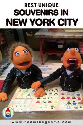 PIN 1 - new york souvenirs muppets