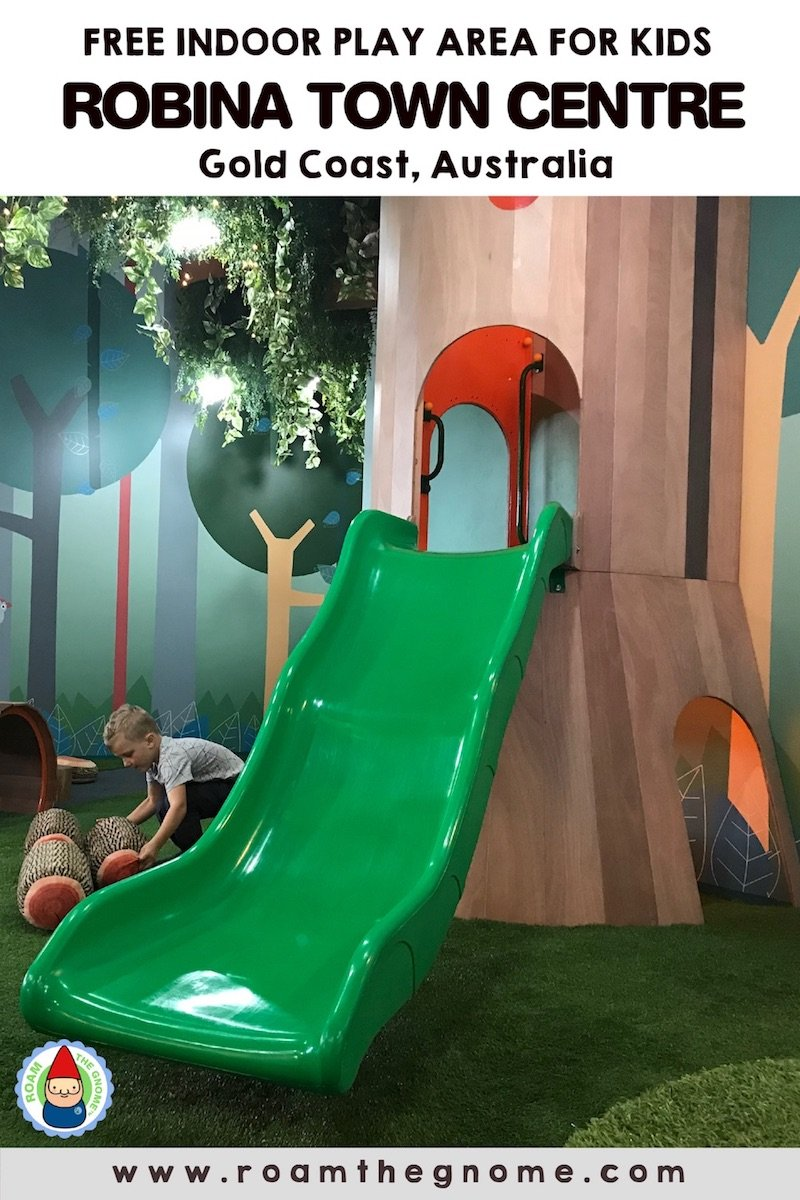 PIN 1 - tree top play area robina town centre slide PIC