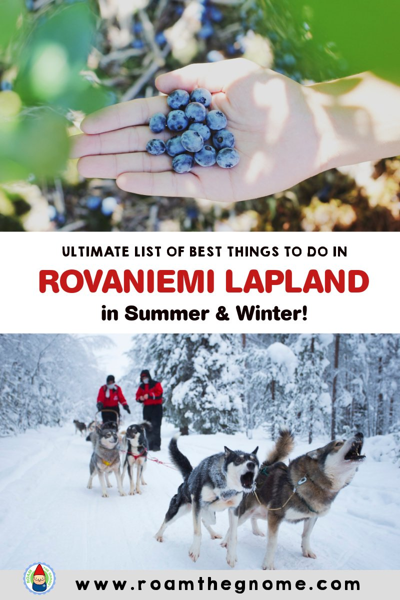 PIN Things to do in Rovaniemi Finland