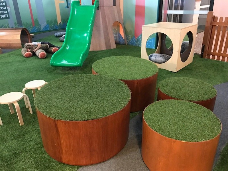 Photo - Tree Top Indoor Play Centre Gold Coast seats