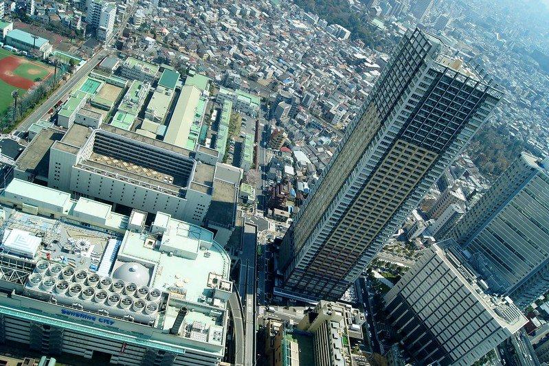 Sunshine city tokyo ikebukuro by luca mascaro