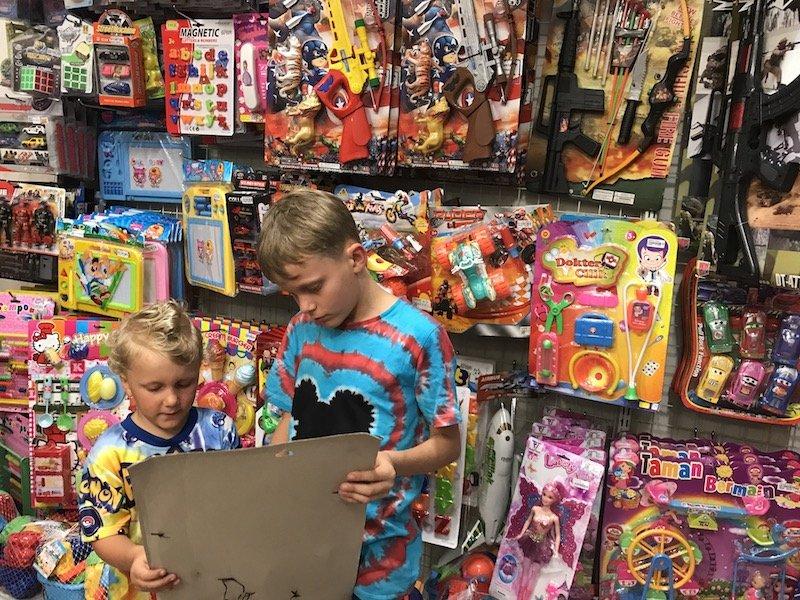 bali bintang supermarket toys pic
