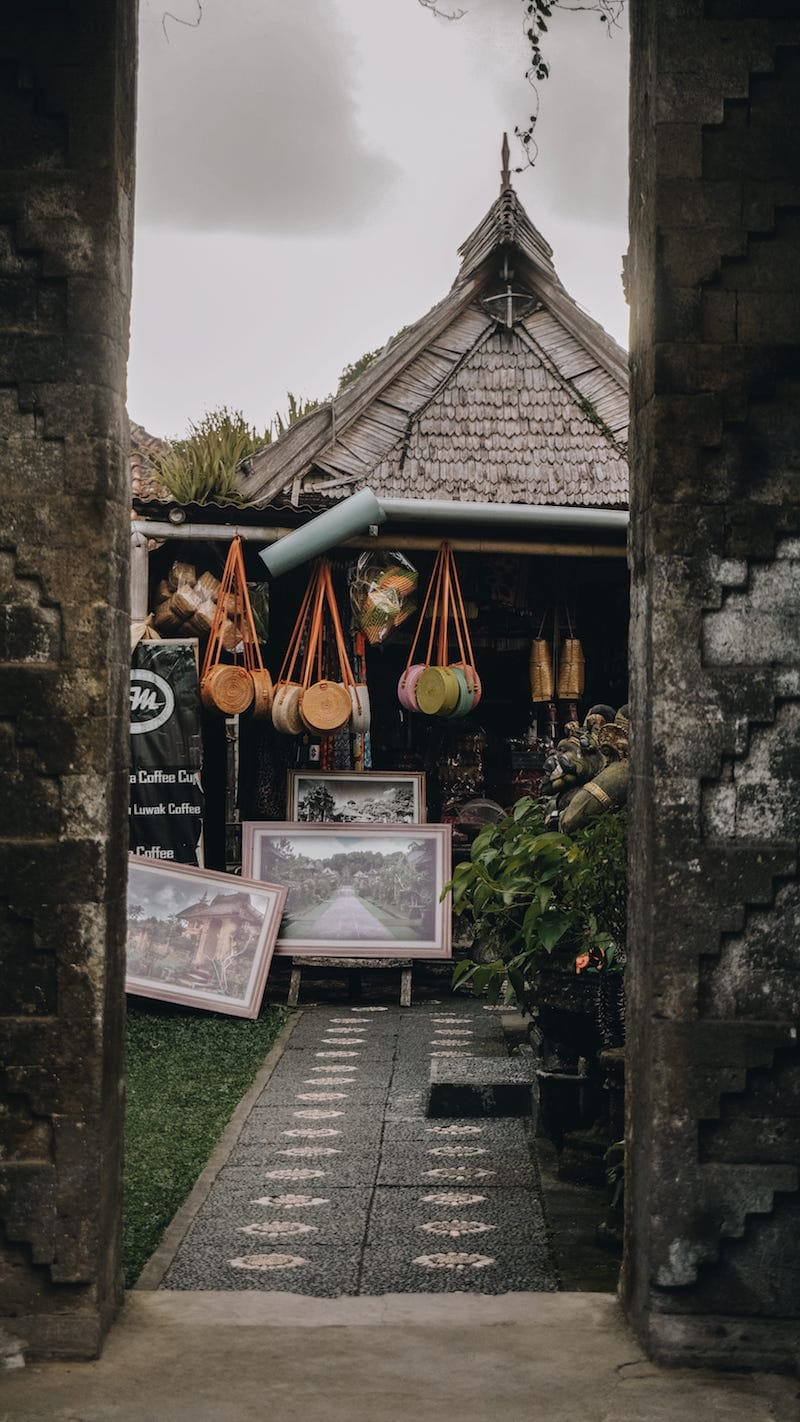 picture of handbag shopping in bali