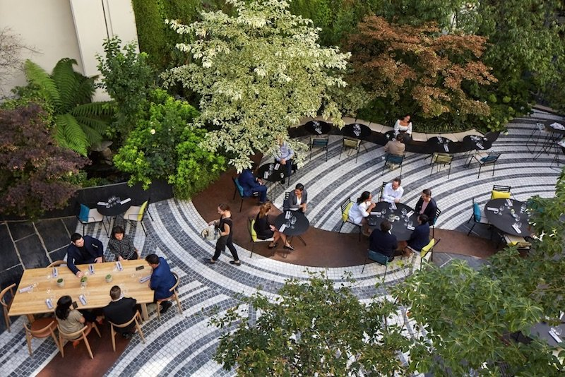 best family hotel in paris novotel paris les halles outdoor patio pic