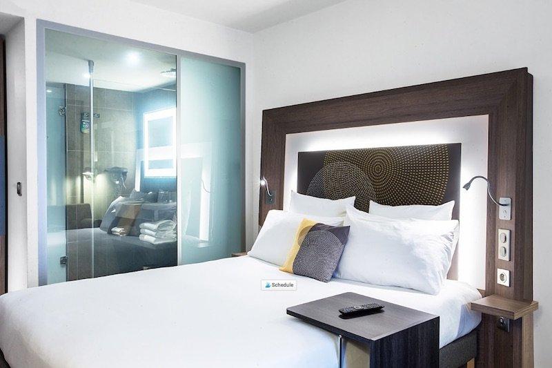 best family hotel in paris novotel paris les halles room layout pic