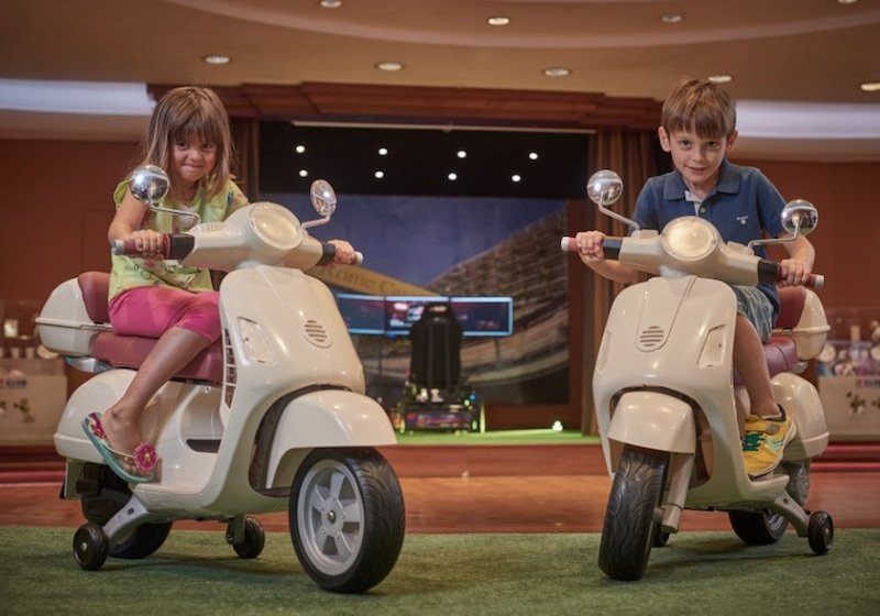 best place to stay in rome with kids - rome cavalieri hotel kids club pic
