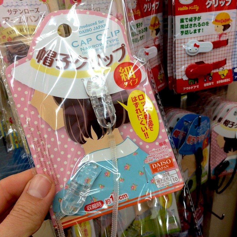 daiso tokyo hat clip pic