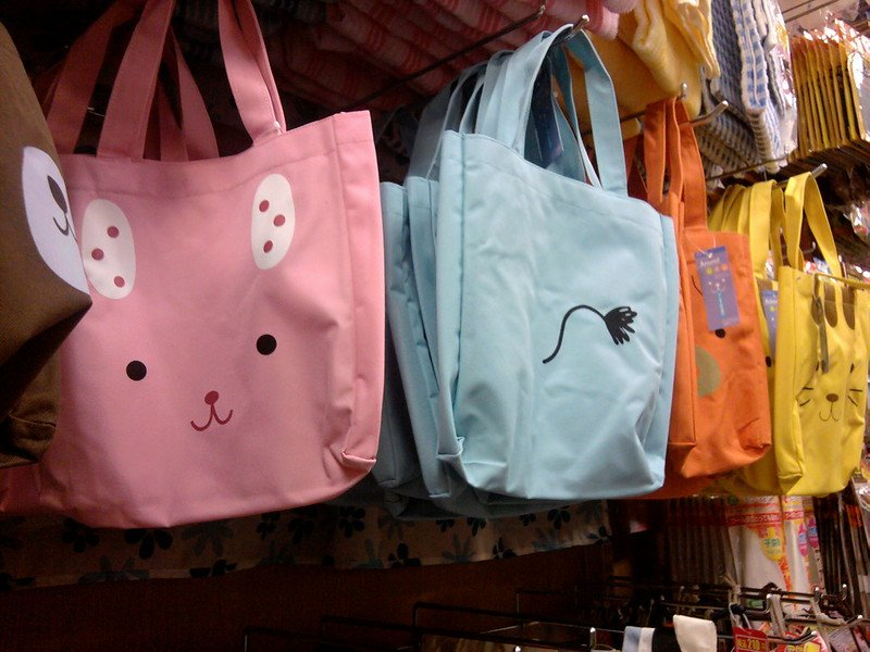 daiso tokyo tote bags by lisa paul flickr