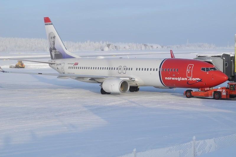 flight norwegian air pic