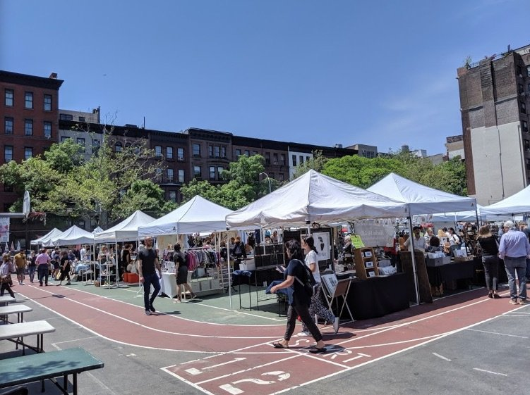 green flea market new york pic