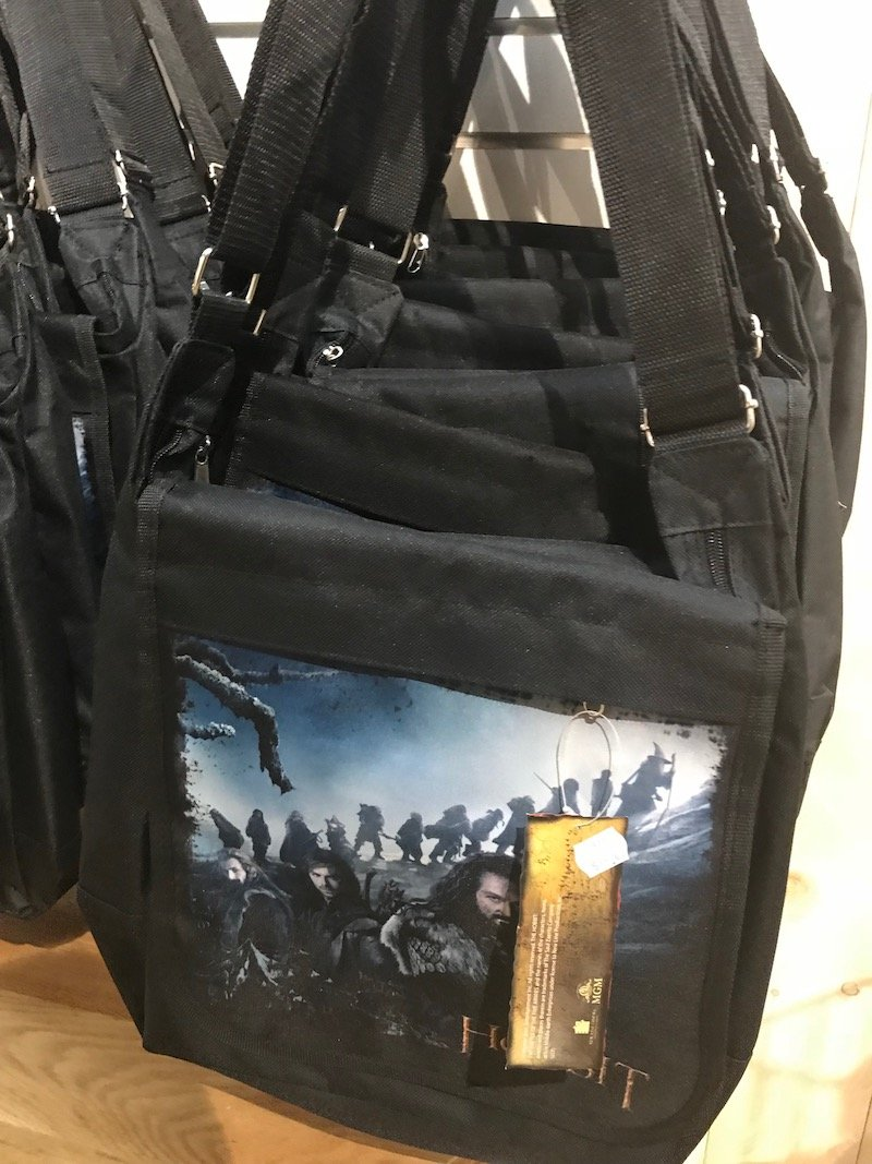 hobbiton gift shop bags and satchels pic