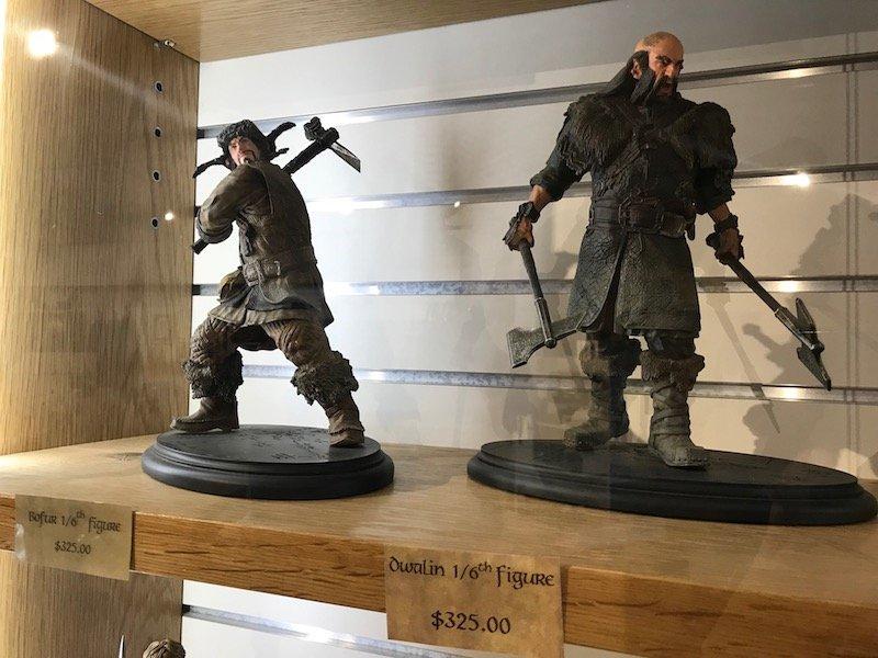hobbiton gift shop ornaments - WETA collectibles pic