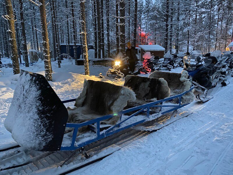 image - snowmobile park sled ride