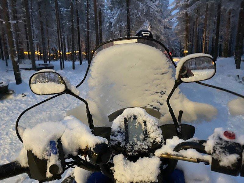 image - snowmobile window