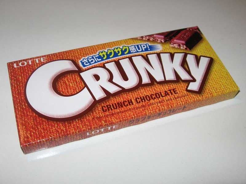 pic of japanese chocolate lotte crunky by arnold gatilao
