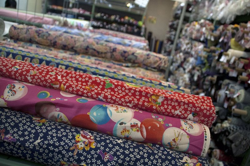 japanese fabric town by bradley eldridge