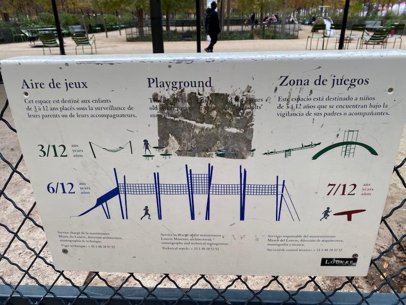 aire de jeux paris playground equipment pic