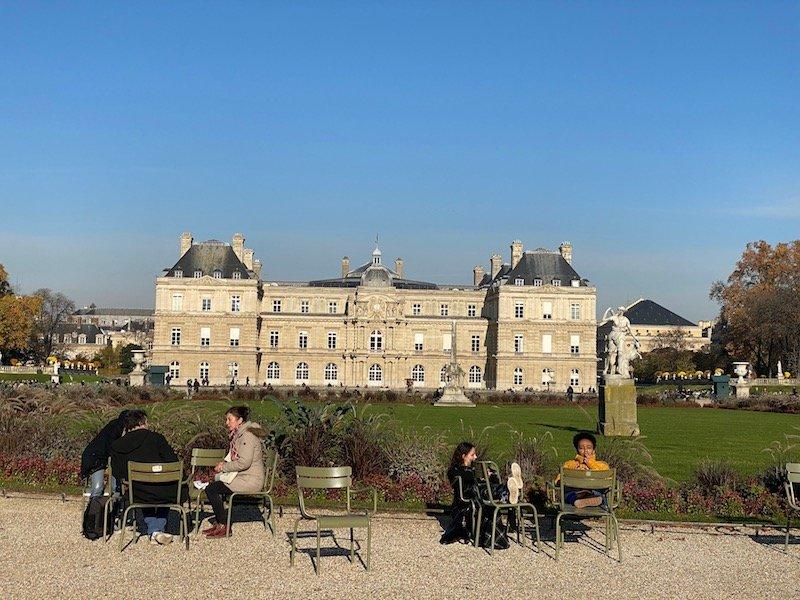jardin du luxembourg gardens chairs