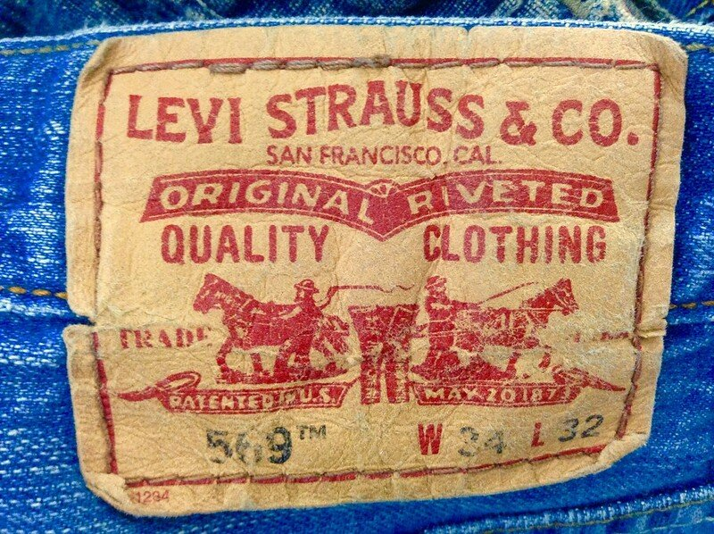 levi jeans by mike mozart