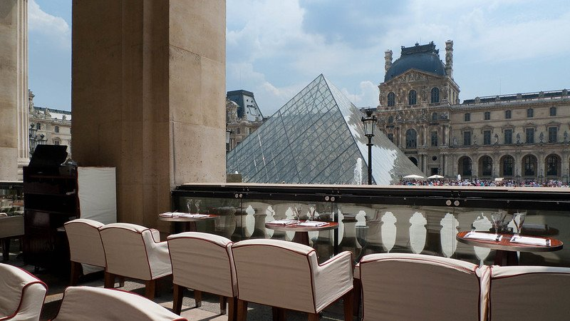 louvre museum cafe by joe desousa