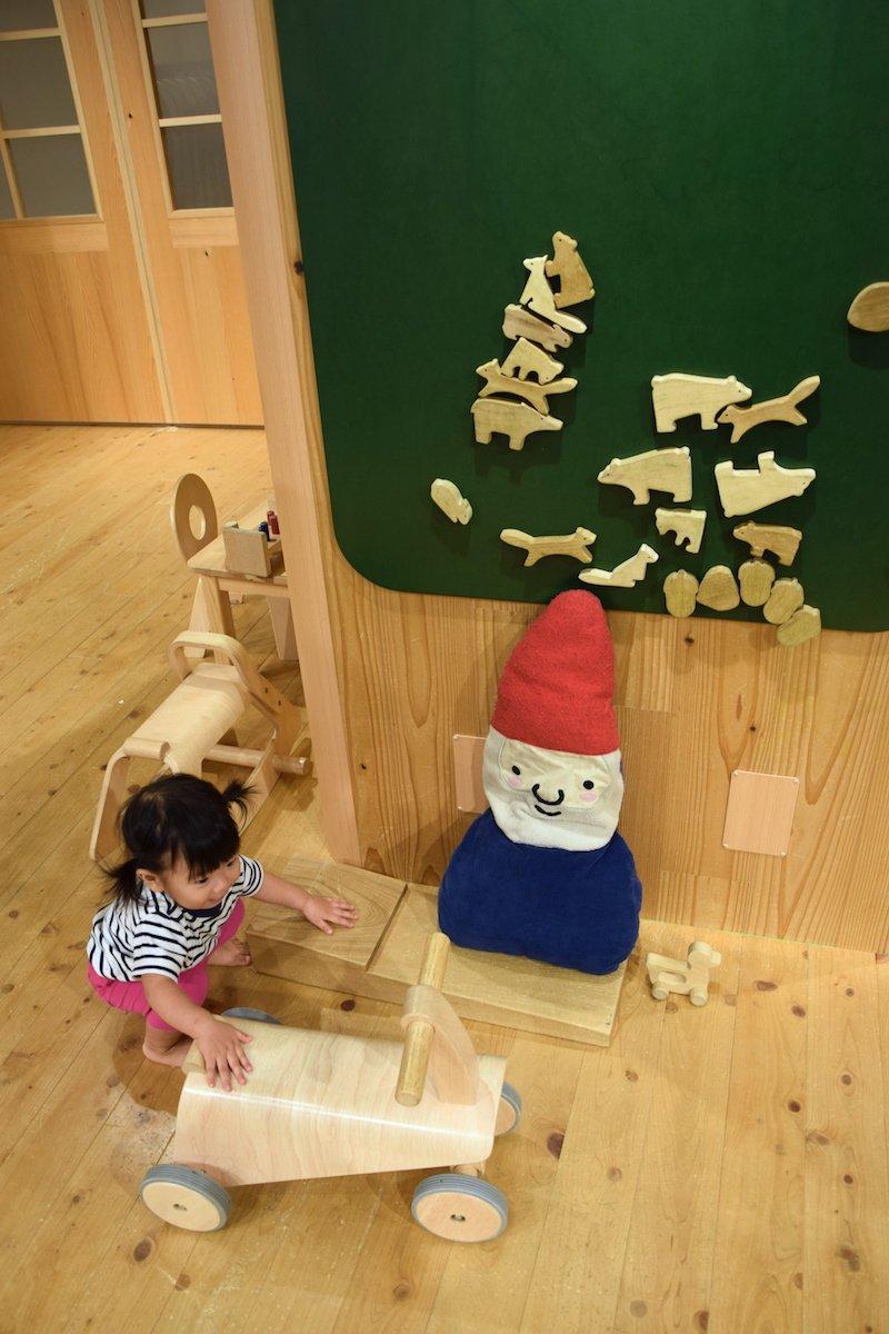muji playroom toys pic
