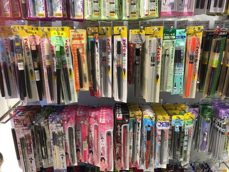 loft japan pens aisle pic