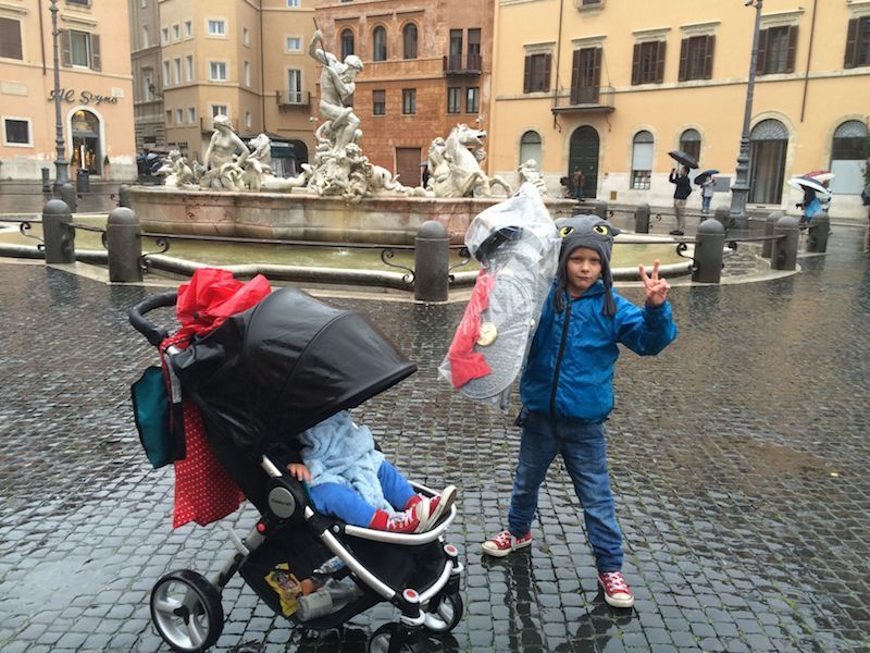 piazza navona ned with stroller pic