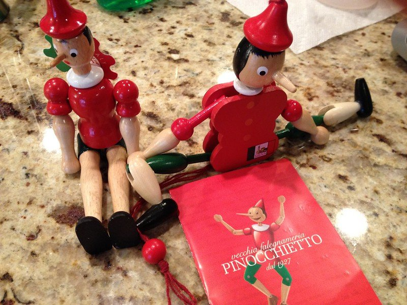 pinocchio toys from rome by elaine moore