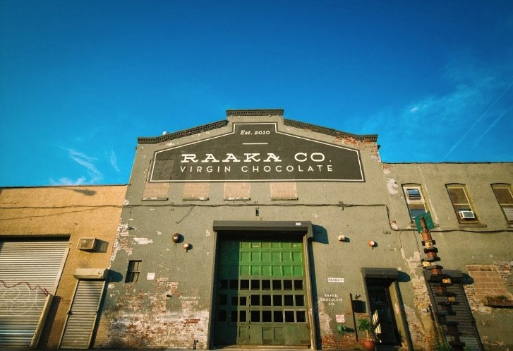 raaka chocolate brooklyn factory pic
