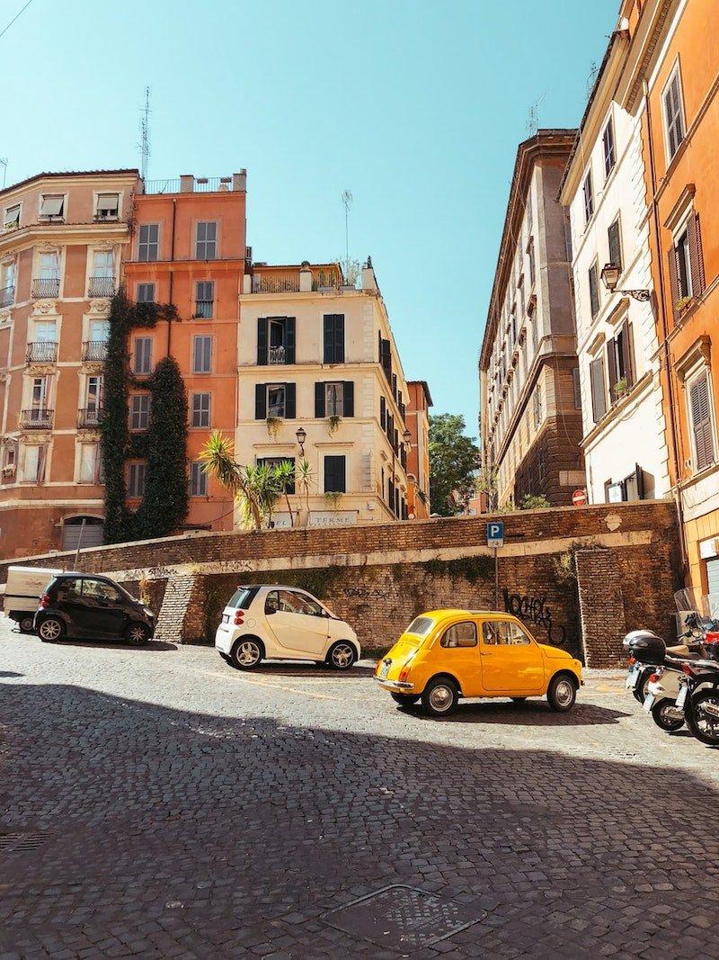 rome street pic by arthur yeti