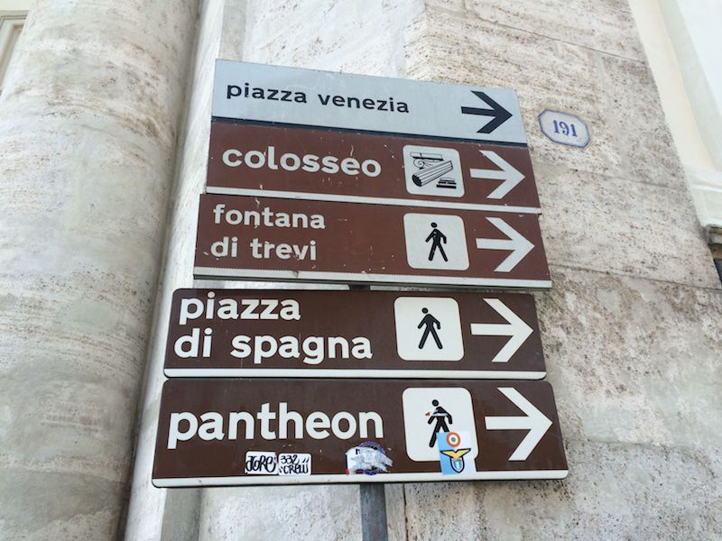 rome street sign pic 800