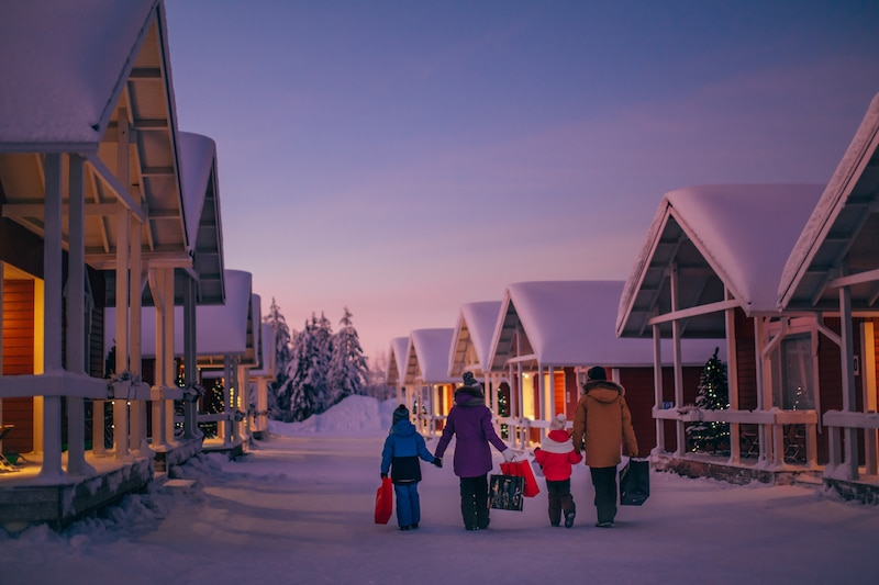 santa claus holiday village by visit rovaniemi