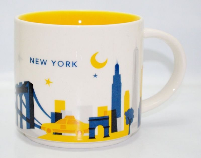 starbucks new york you are here mug pic