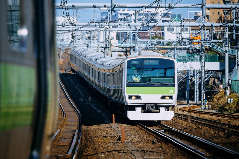 sunshine city tokyo ikebukuro JR train ride to town pic by hans-johnson