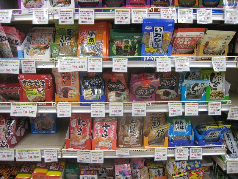 tokyo supermarkets rice toppings by dom pates flickr