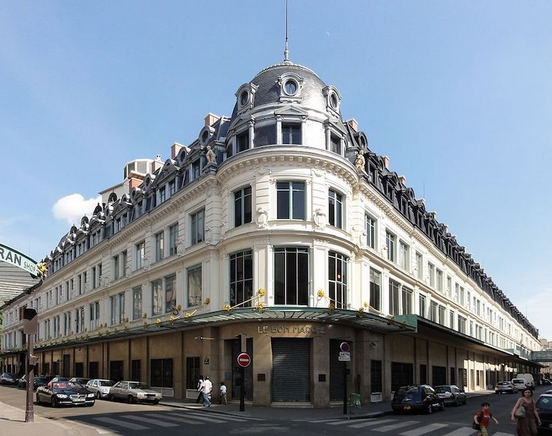 le bon marche Paris points of interest by guillaume speurt