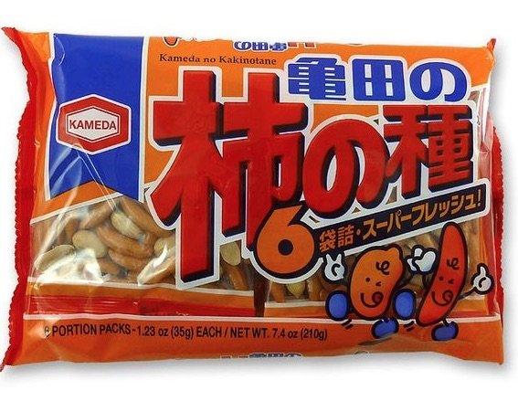 Kaki no tane rice crackers pic