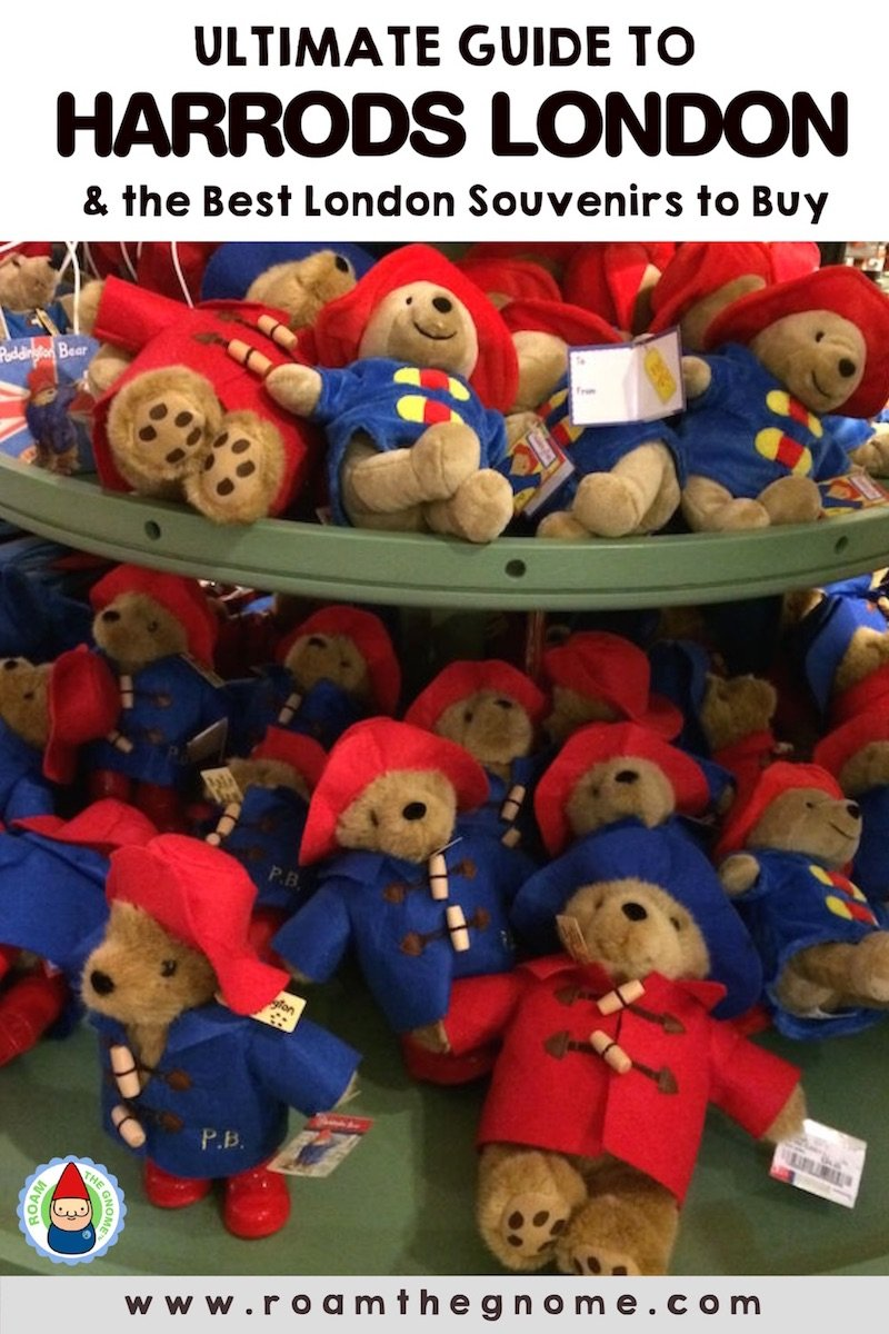 PIN 1 - harrods london paddington PIC