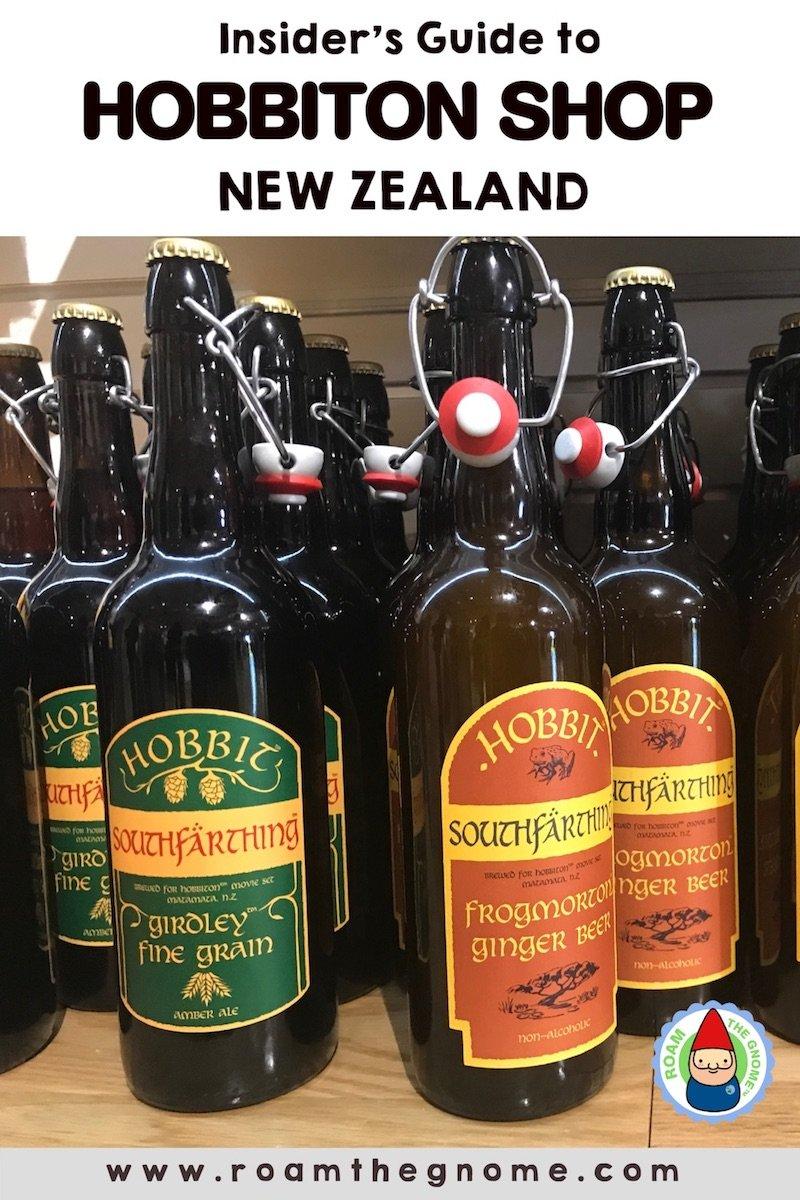 PIN 1 - hobbiton shop beer