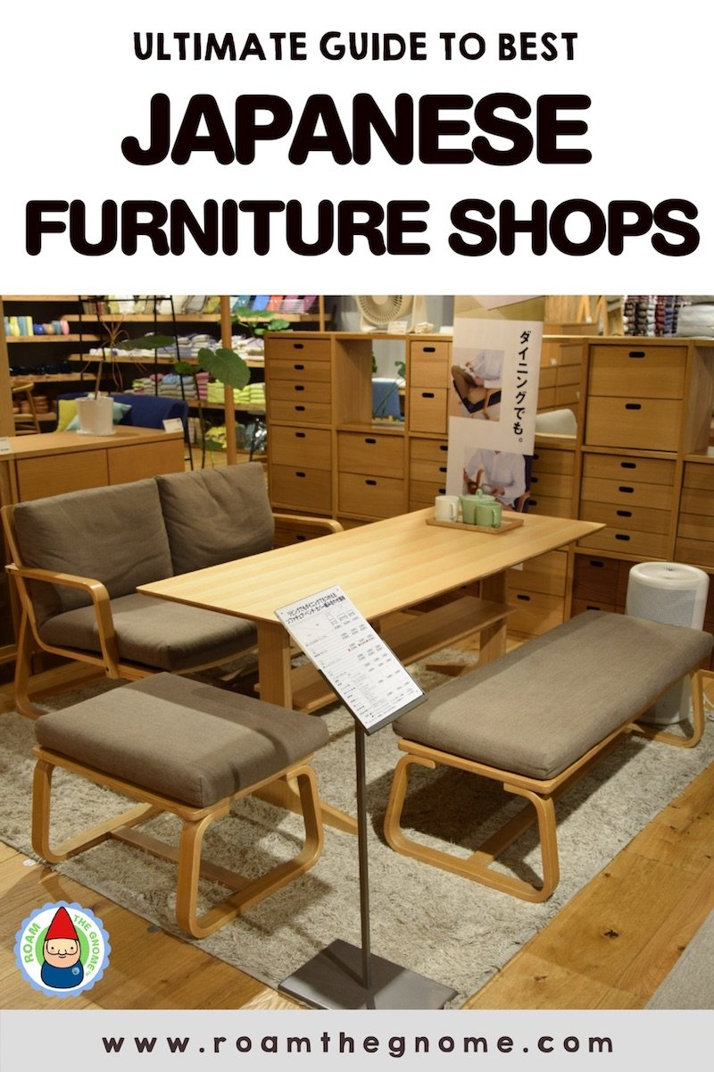 PIN 1 - japanese furniture shop dining table