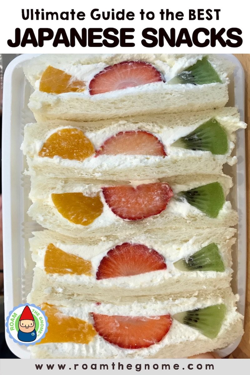 PIN 1 -japanese snacks fruit sandwiches
