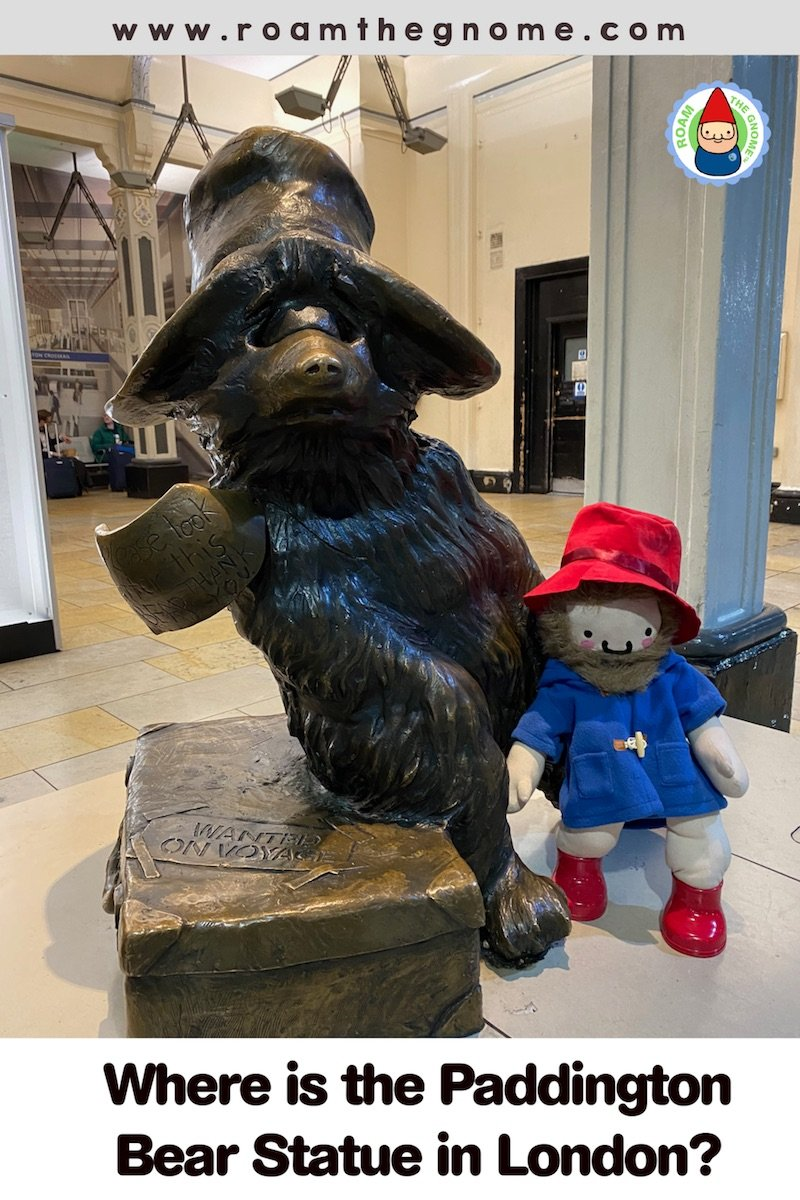 PIN 1 paddington statue london 800