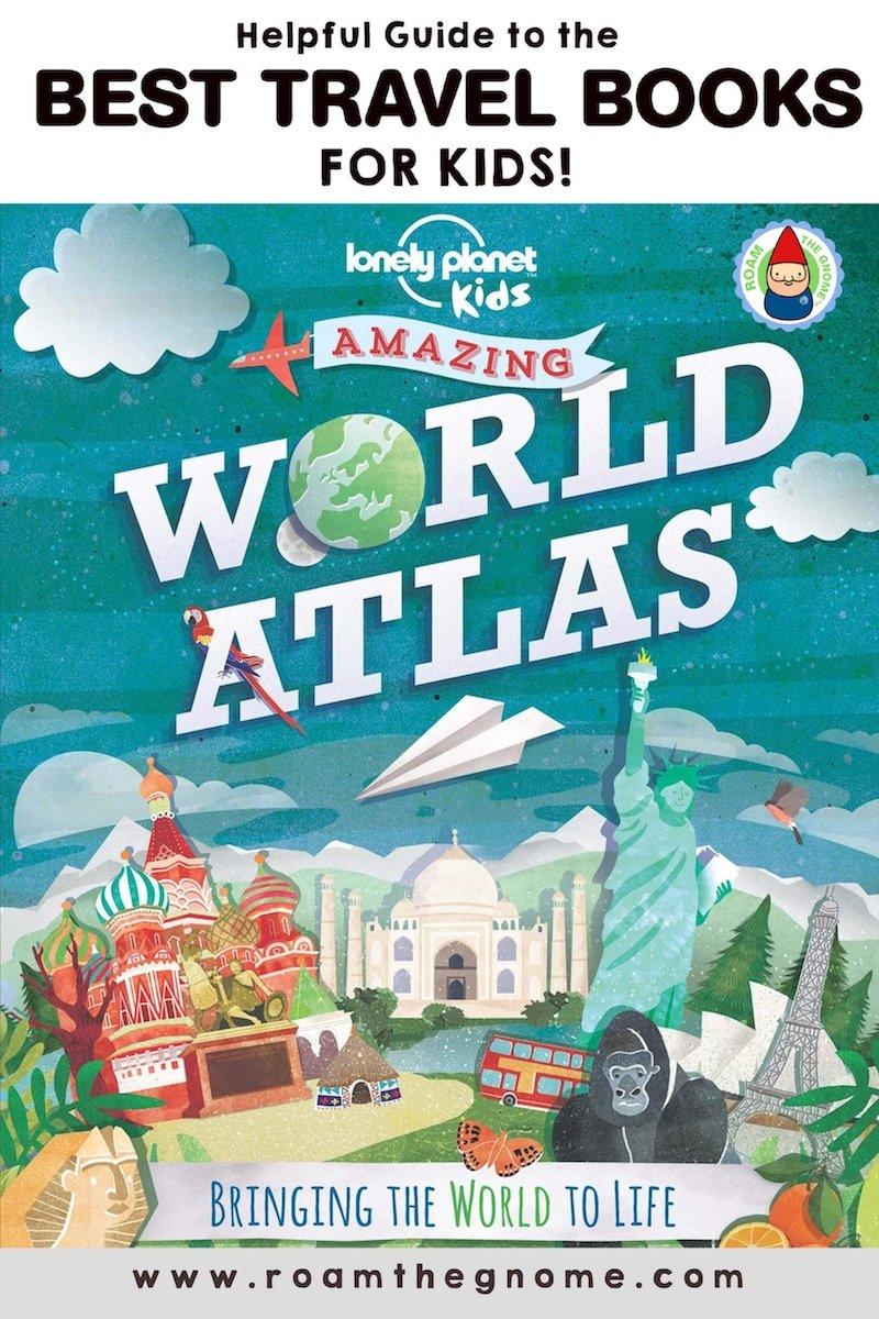 PIN 1 travel books for kids atlas 800