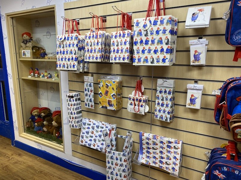 Paddington stationery and gift ware