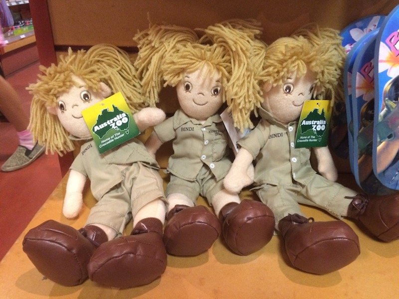australia zoo shop bindi irwin dolls