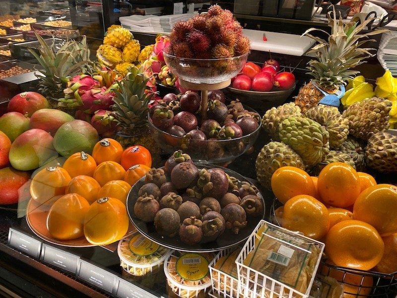 harrods food hall fruits