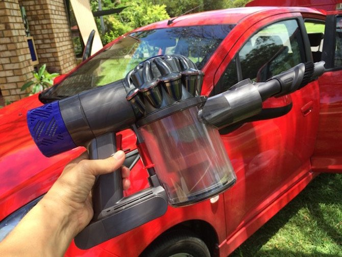 image - Dyson V6 handheld vacuum for car and boat